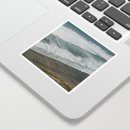 Waves on the Beach Sticker