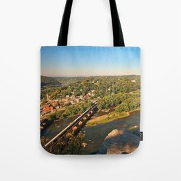 Harpers Ferry & Potomac River Overlook Tote Bag
