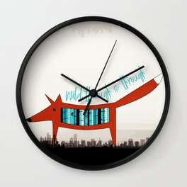 Wild Through & Through Wall Clock