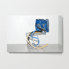 Wire Box Metal Print