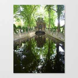 Gardens of Luxemborg Canvas Print