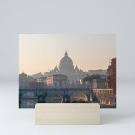 San Pietro at sunrise Mini Art Print