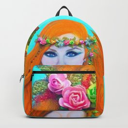 Redhead Poison Ivy Goddess Backpack