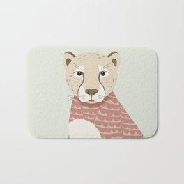 Whimsical Cheetah Bath Mat