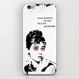 Delusional Lady iPhone Skin