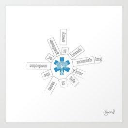 Infinite Medicine Art Print