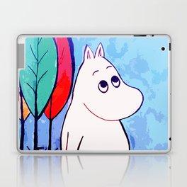 The walk of Moomin Laptop & iPad Skin