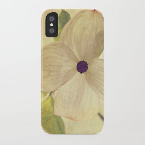 dogwood closeup iPhone Case