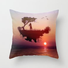 LANDSCAPE - Solitary sister Throw Pillow