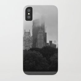 fog in city... iPhone Case