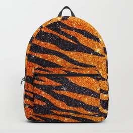 Tiger Shout Glitter Stripe Backpack