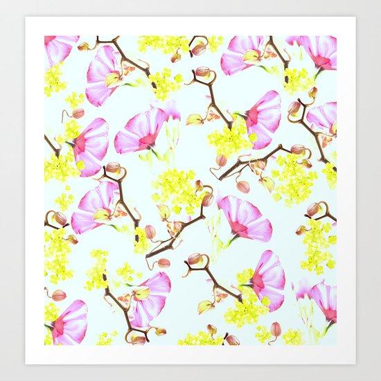 Spring flowers (floral) Art Print