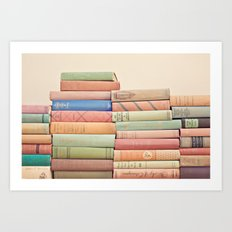 Stacked Gems  Art Print
