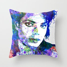 Michael Jacksons Throw Pillow