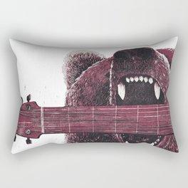 Big Bad Bear Rectangular Pillow