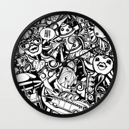 B&W NY Wall Clock