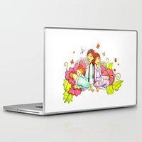 sisters Laptop & iPad Skins featuring Sisters by Namia Design