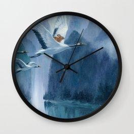 Isabella and the Cranes Wall Clock