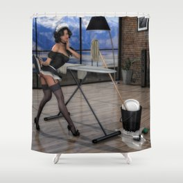 The French Maid Shower Curtain