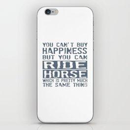 RIDE HORSE iPhone Skin