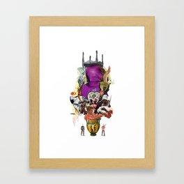 Colonisation Framed Art Print