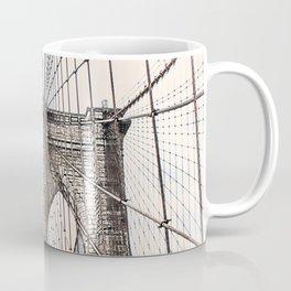 Brooklyn Brigde New York City ArtWork Paint Coffee Mug