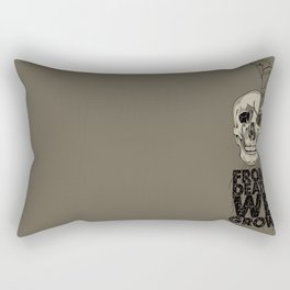 From Death We Grow... Rectangular Pillow