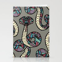 anaconda Stationery Cards featuring Anaconda by schillustration