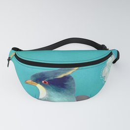 chinois 1731: turquoise Fanny Pack