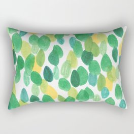 Lost in the leaves Rectangular Pillow