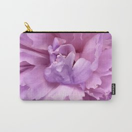 Pretty Pink Peony Macro Photo Carry-All Pouch
