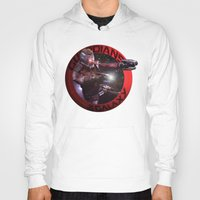 starlord Hoodies featuring StarLord - Guardians of the Galaxy by Leamartes