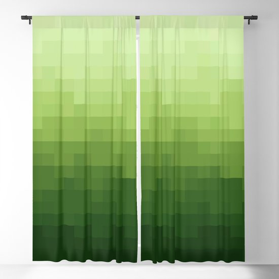 Gradient Pixel Green by colorandpatterns