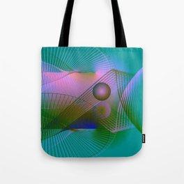 Lightpainting Tote Bag