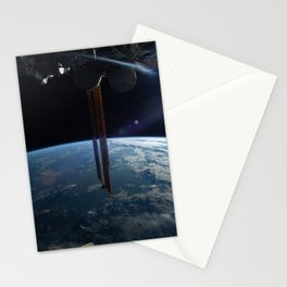 60. Good Morning From the Space Station! Stationery Cards