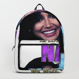 Naya Rivera Rest In Peace RIP Memorial gift Backpack