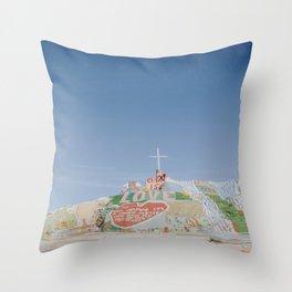 Salvation Mountain / Slab City, California Throw Pillow