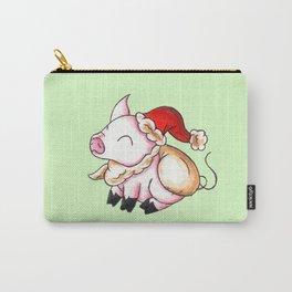 Santa Piggy Carry-All Pouch