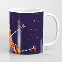 Soviet Propaganda. Yuri Gagarin Coffee Mug