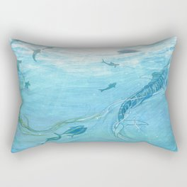 The Old Man & the Sea Rectangular Pillow