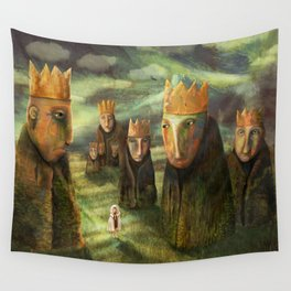 In the Company of Kings Wall Tapestry