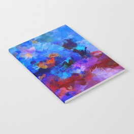 Abstract Seascape Painting Notebook