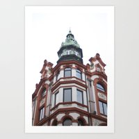 oslo Art Prints featuring Oslo by thebetterview