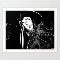 I came from the White Hills Art Print