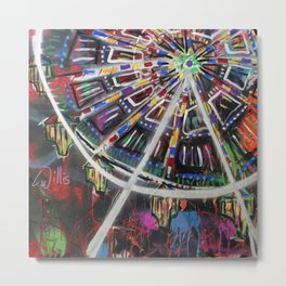 Untitled #12 Revised: Ferris Wheel Metal Print