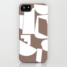 Shape study #17 - Inside Out Collection iPhone Case