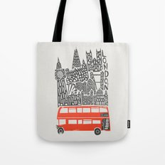 London Cityscape Tote Bag