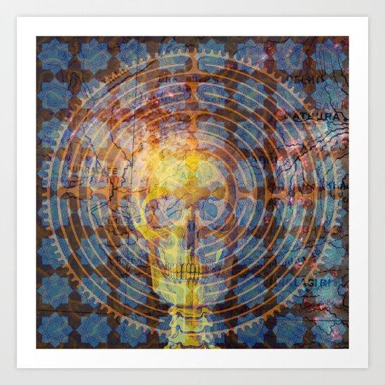 Labyrinth of Mind Art Print