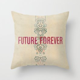 Future Forever Throw Pillow