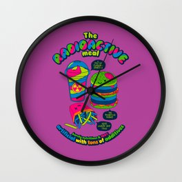 The Radioactive Meal Wall Clock